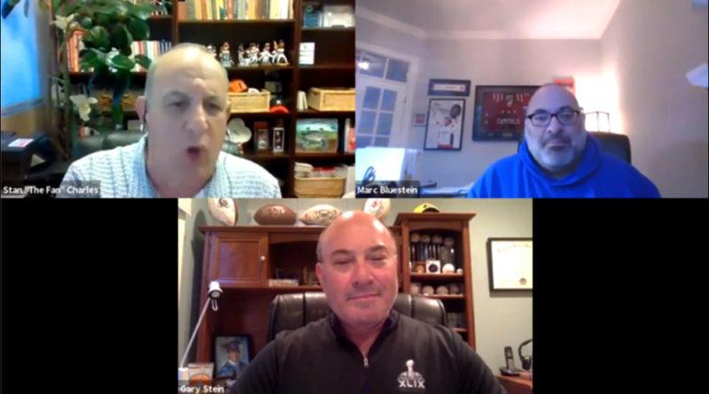 Marc Bluestein on Zoom with Stan Charles, Gary Stein