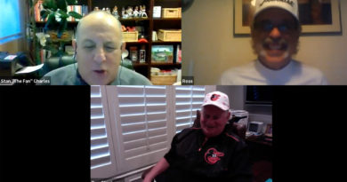 Don Stanhouse on Zoom with Stan Charles, Ross Grimsley