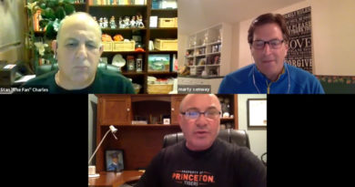 Marty Conway on Zoom with Stan Charles, Gary Stein
