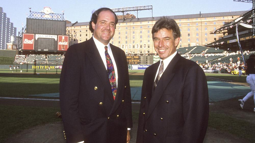 Chris Berman, Buck Martinez