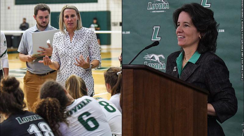Loyola: Alija Pittenger, Donna Woodruff