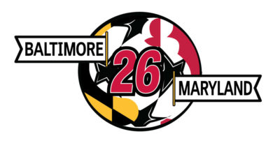Baltimore Maryland 2026 World Cup logo