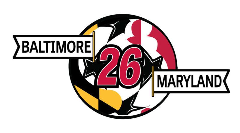 Baltimore Maryland 2026 World Cup logo