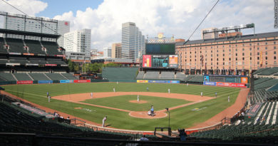 Camden Yards, field