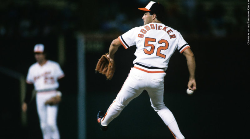 Orioles: Mike Boddicker