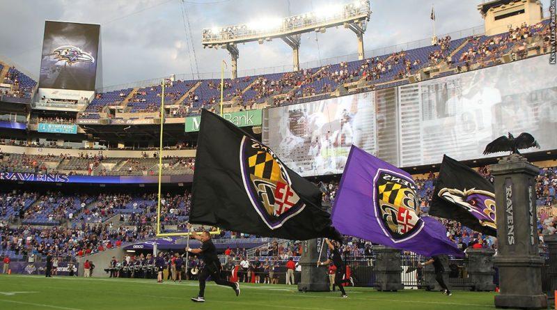 Ravens flags