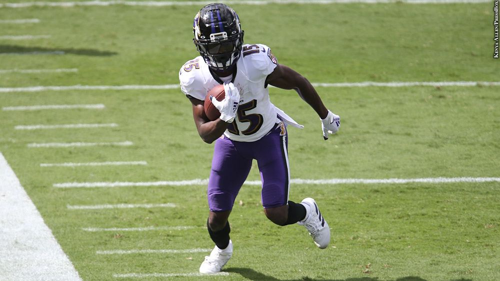 Charles Davis: Ravens' Offense Has Exciting Potential With Healthy Marquise  Brown - PressBoxOnline.com