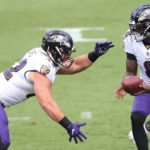 Ravens FB/TE Patrick Ricard Frustrated With Fumble But Pleased With Team's Performance