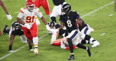 Lamar Jackson vs. Chiefs