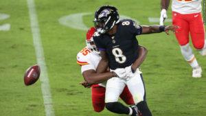 Lamar Jackson vs. Chiefs