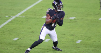 Ravens PR James Proche Believes He's Ready To Contribute On Offense