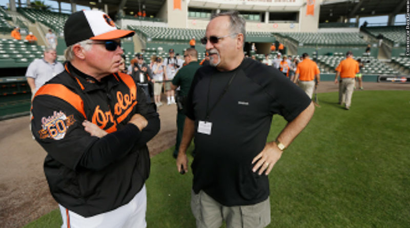 Dave Ginsburg with Buck Showalter