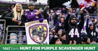 M&T Bank Hunt for Purple Scavenger Hunt