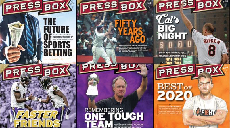 PressBox 2020 Covers