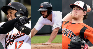 Orioles prospects Yusniel Diaz, Ryan McKenna and Michael Baumann