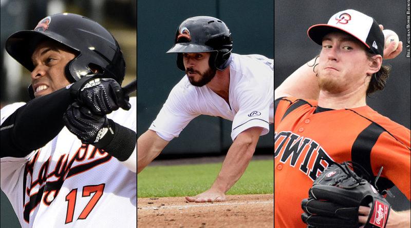 Orioles prospects Yusniel Diaz, Ryan McKenna and Michael Baumann