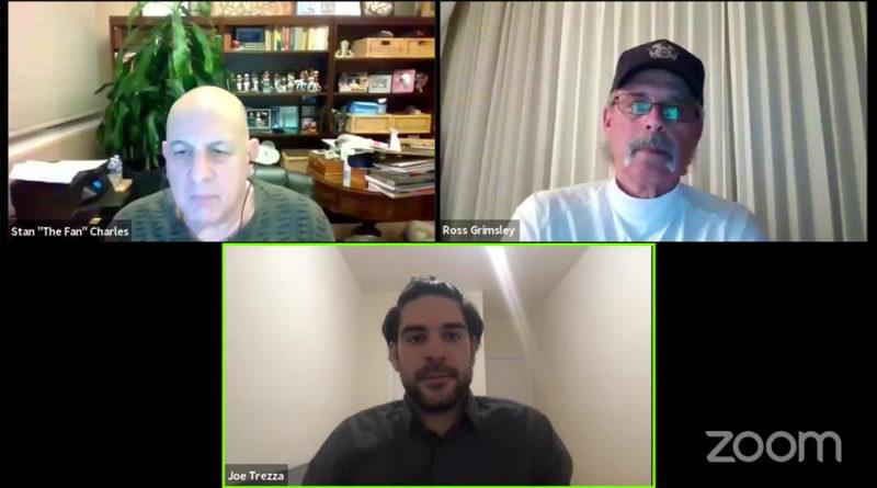 Stan The Fan Charles, Ross Grimsley and Joe Trezza