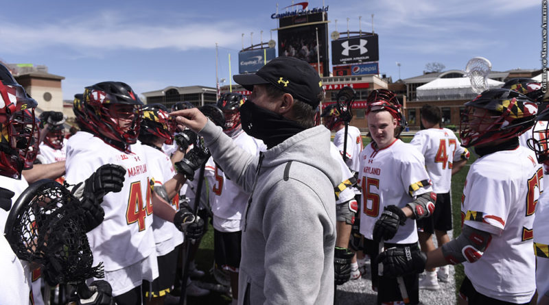 John Tillman, Maryland lacrosse