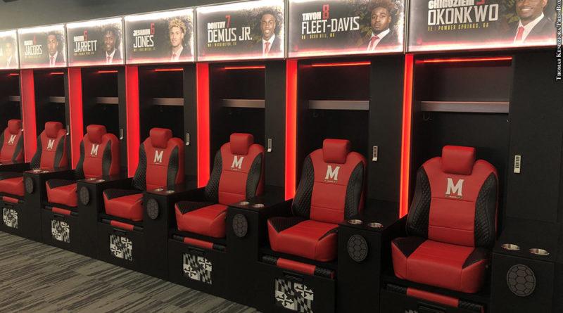 Jones-Hill House: locker room