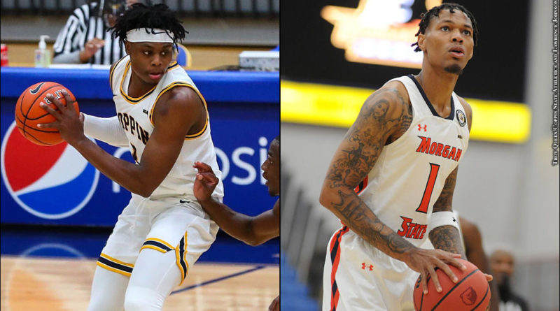 Coppin State's Anthony Tarke, Morgan State's Troy Baxter