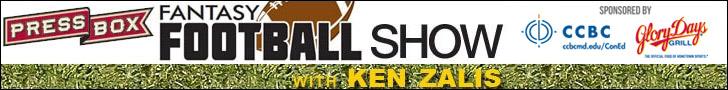 PressBox Fantasy Football Show with Ken Zalis
