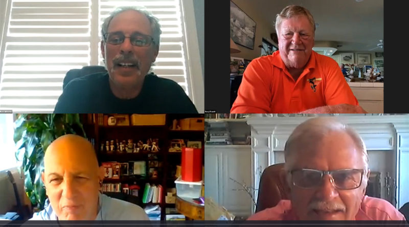 Stan Charles, Ross Grimsley, Boog Powell and Rick Dempsey