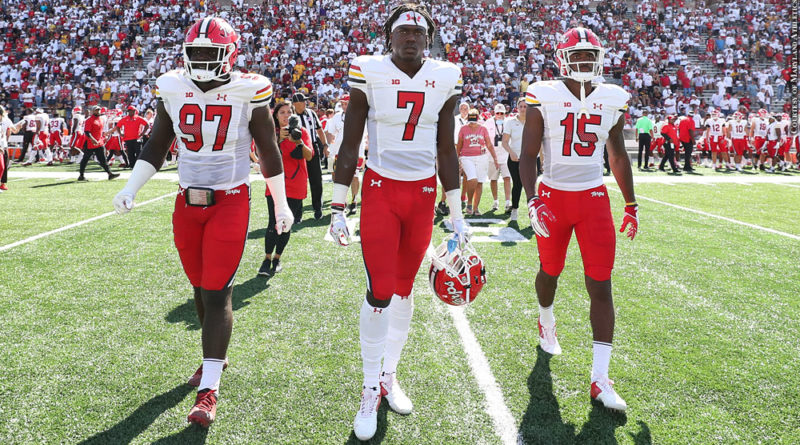 Terps game captains