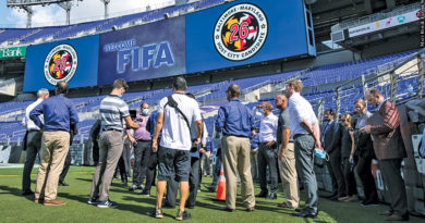 FIFA's site visit to Baltimore in September