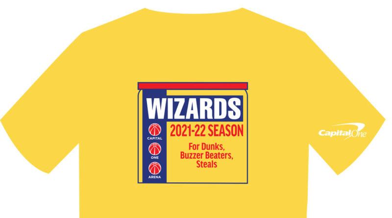 Wizards Open Practice Shirt