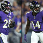 RB Latavius Murray, WR Sammy Watkins Ruled Out For Ravens' Game Against Bengals